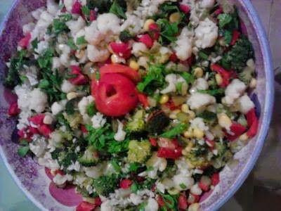 Hayal Alemi: Karnıbahar brokoli salatası