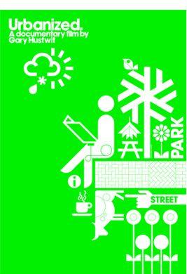 Urbanized: A Documentary Film by Gary Hustwit. Film poster by Build.