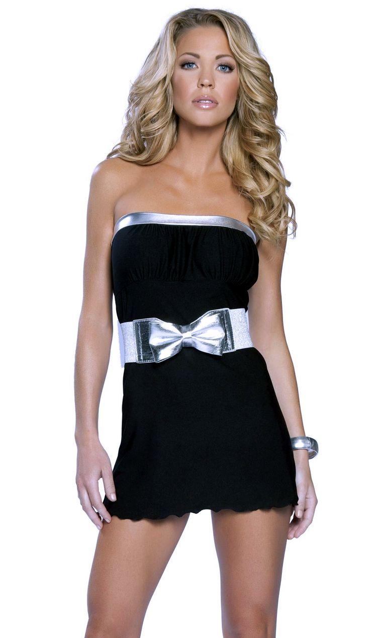 Little Black Tube Dress