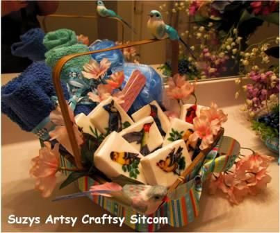 Hand-made(Hand Decorated) Decorative Soaps - Great Mother's Day gift too