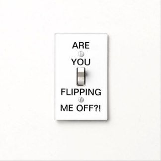 Funny Light Switch Covers - Wall Switch Plates | Zazzle
