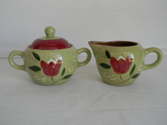 Vintage Mid Century Stangl Pottery Magnolia by AustinMetroRetro & 239 best Stangl Pottery images on Pinterest | Dishes Dish and ...