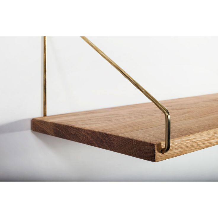 Shelf 60 hylla, mässing – Frama – Köp online på Rum21.se