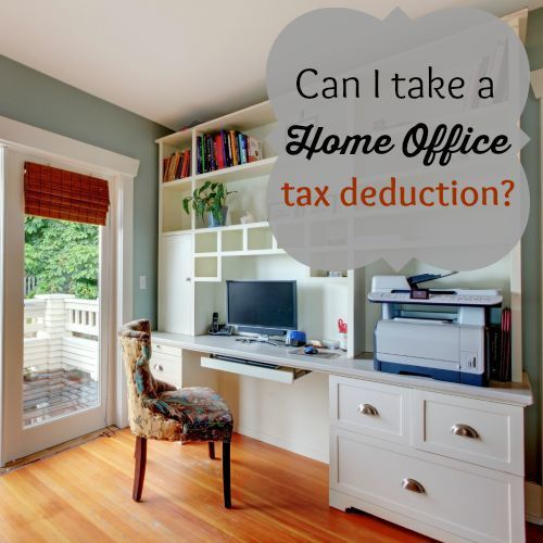tax write off home office