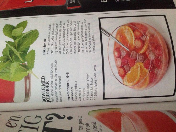 Jordbærbowle (alkohol)