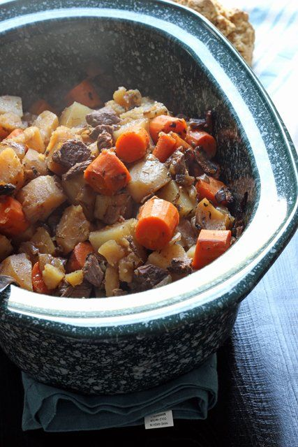 Guinness Beef Stew - Homemade beef stew is homey and comforting. It's also so easy to make, you'll wonder why anyone would think to ruin it in a can.