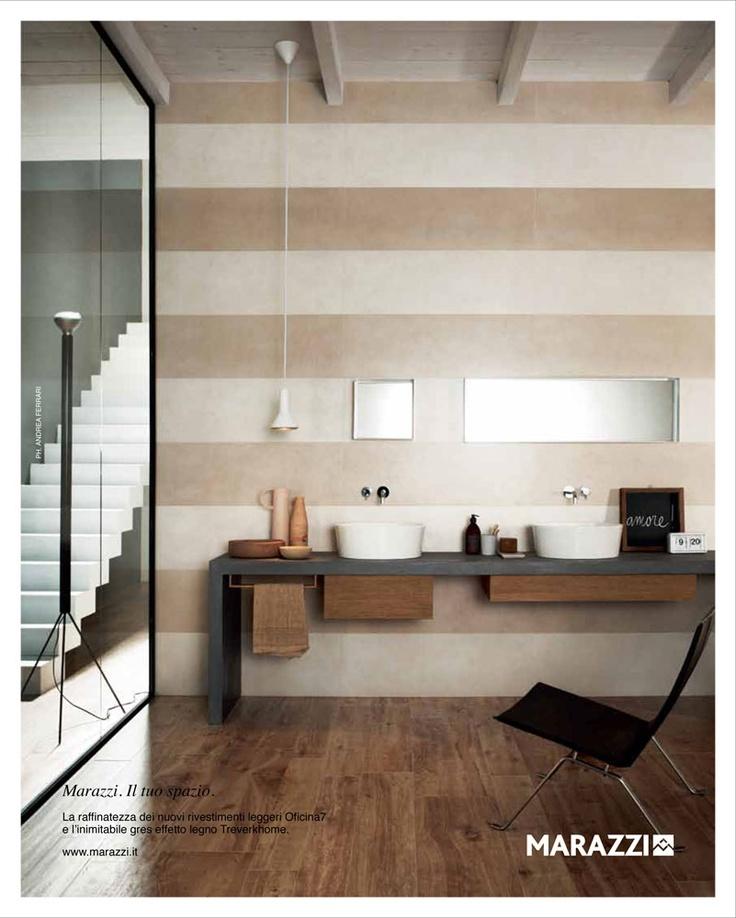 Marazzi andrea ferrari stefania vasquez bathrooms for Migliori riviste arredamento