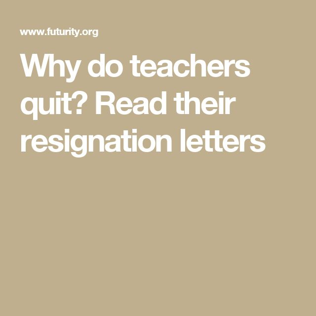 Best 25+ Teacher resignation letter ideas on Pinterest Sample of - teacher letter of resignation