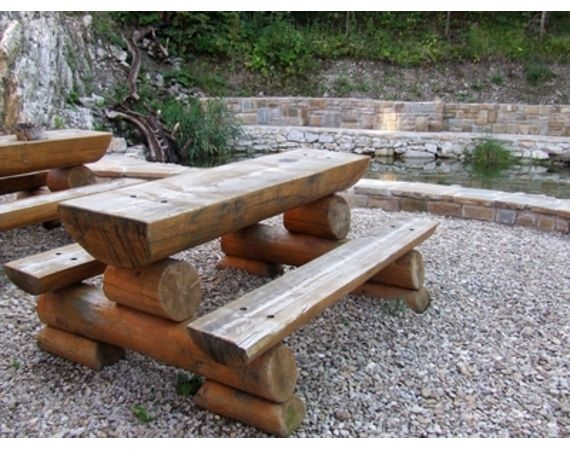 best outdoor wood furniture  on Pinterest