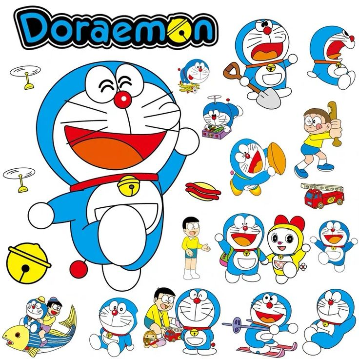 Pin oleh ♕𝓣𝓲𝓷𝓰♕ di Doraemon