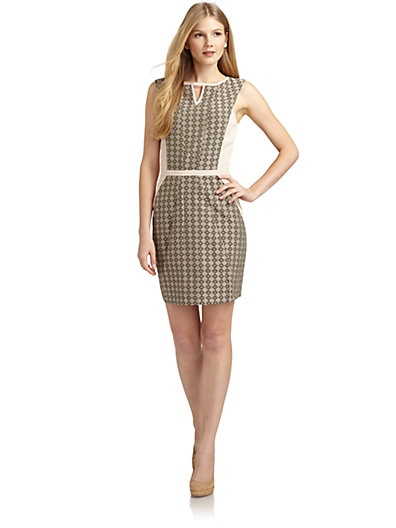 ADDISON - Jacquard Woven Dress -