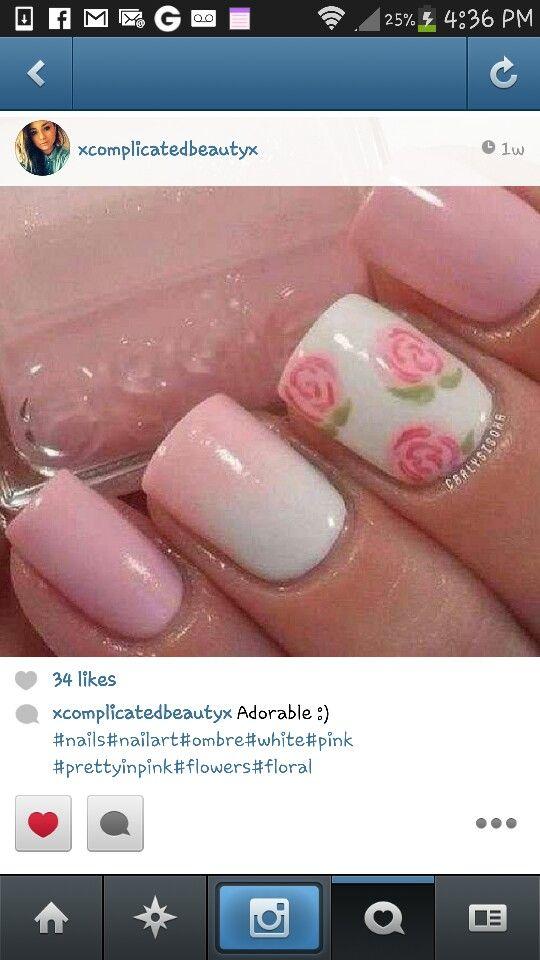Mejores 92 imágenes de MANICURA en Pinterest | La uña, Estilos de ...