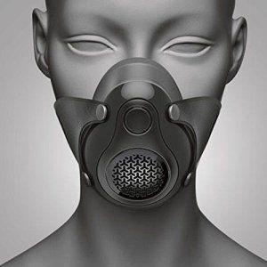 SanSiDo masque anti- PM2.5 cycliste vélo Masque anti-pollution sport Masque protecteur anti-poussière Activités en plein air Masque avec…