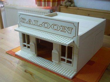 """""""Western Saloon""""  kleintierhütte"""