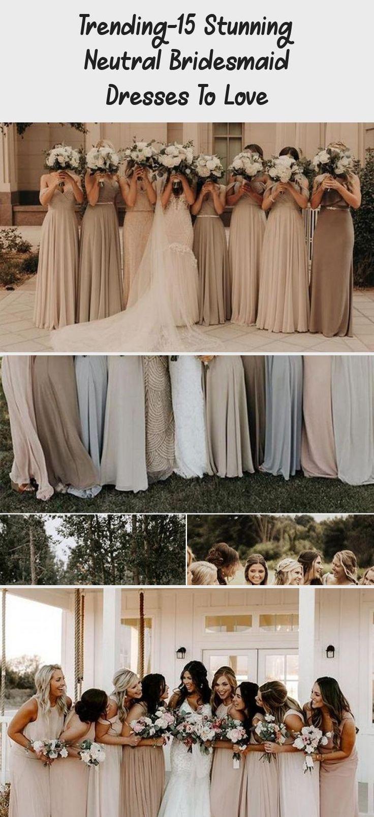 neutral champagne bridesmaid dresses #obde #weddingideas2019 #GreyBridesmaidDresses #OffTheShoulderBridesmaidDresses #AfricanBridesmaidDresses #LavenderBridesmaidDresses #BlackBridesmaidDresses