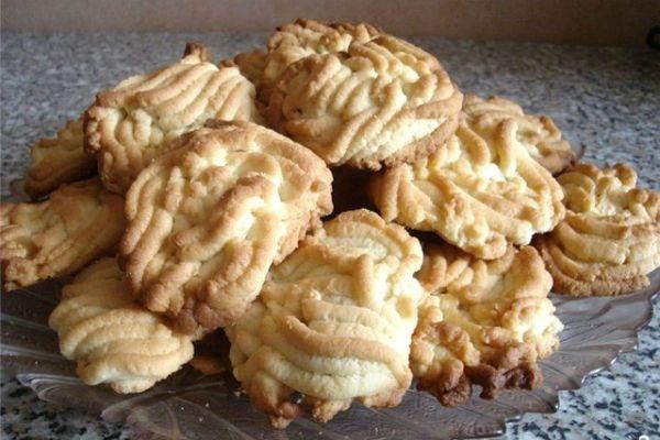 Рассыпчатое печенье через мясорубку 2