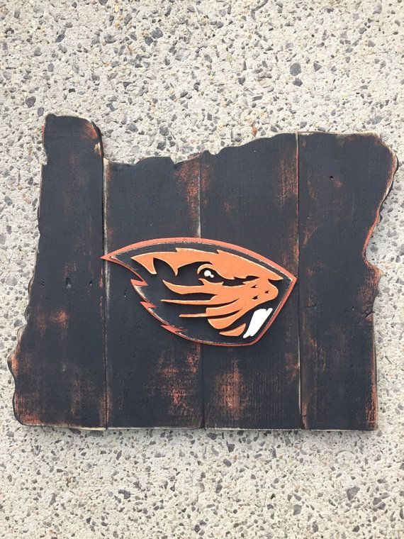 Oregon State University Beavers by TheStateSign.com