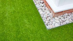 artificial lawn - edging detail 1/25/15