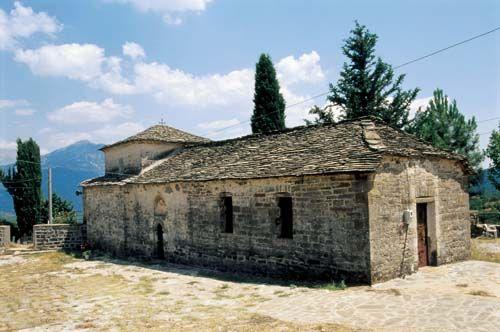 church of the Blessed Virgin/ Ναός Μεγαλόχαρης