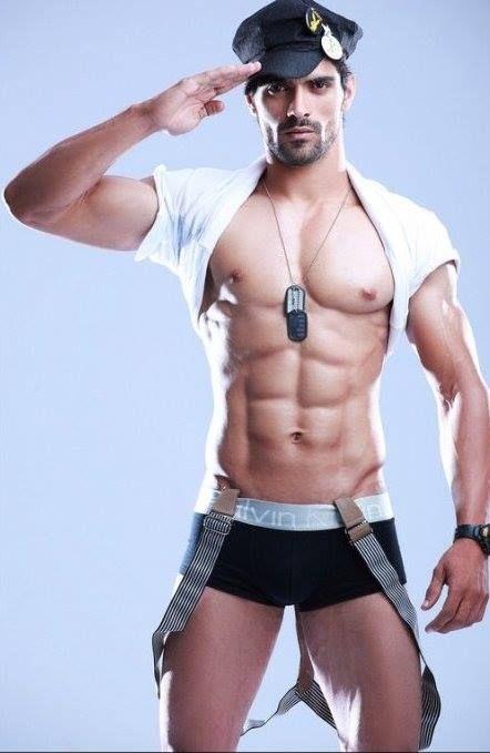 from Ryan gay male policemen in underwear