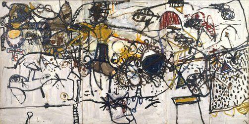 John OLSEN  Spanish encounter (1960)   Art Gallery NSW