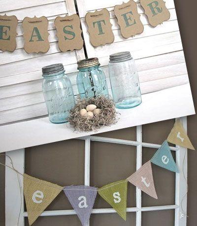 Le decorazioni di Pasqua per la casa