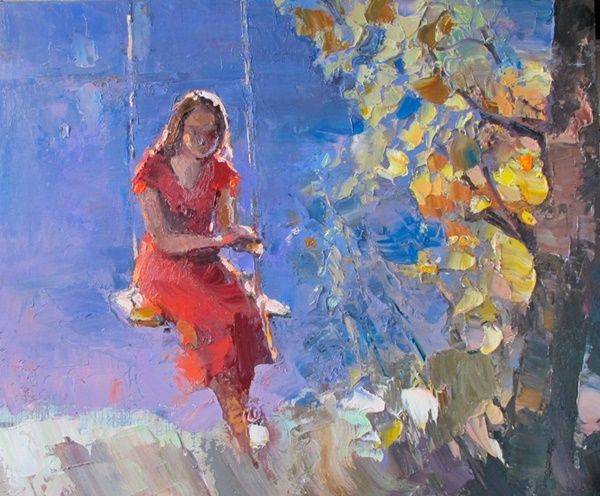 Impressioni Artistiche Boris Prokazov Art Painting Figurative Artwork Painting