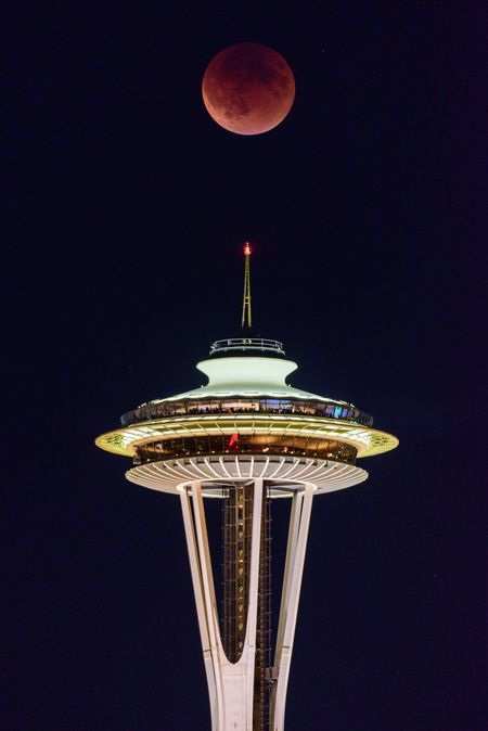 Blood Red Super Eclipse Photo by Tim Durkan — National Geographic Your Shot