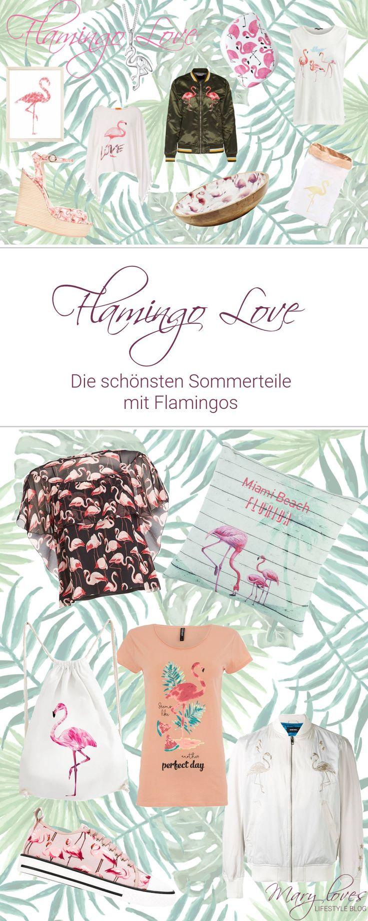 Flamingo Love - Die schönsten Sommerteile mit Flamingos - Editor's Picks mit Flamingos