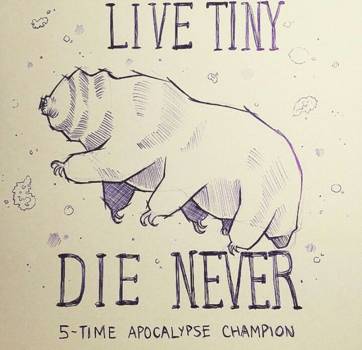 Tardigrade aka Waterbear aka my next tattoo