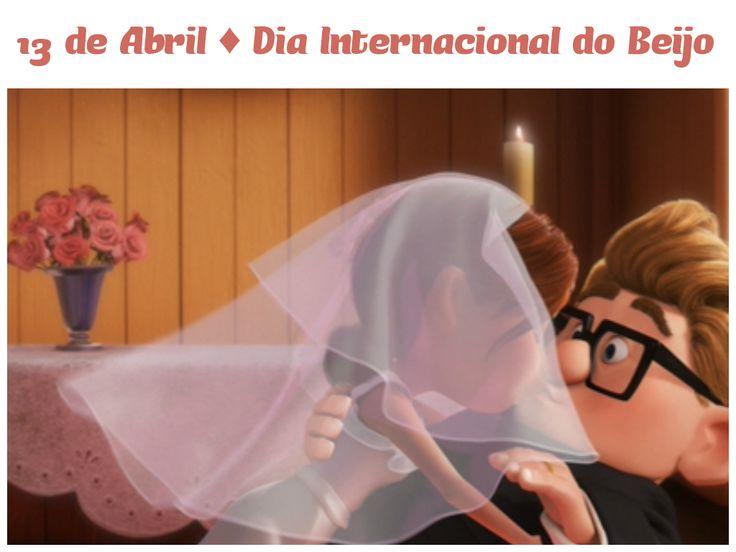 13 de Abril ♡ Dia Internacional do Beijo - Senhora Inspiração!