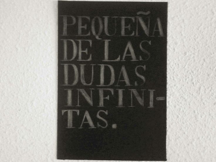 De las dudas infinitas - Supersubmarina.