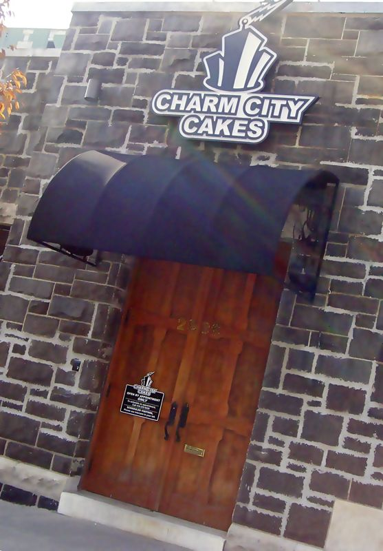 """The starring bakery of the hit show """"Ace of Cakes"""" resides in Baltimore, MD: Charm City Cakes"""