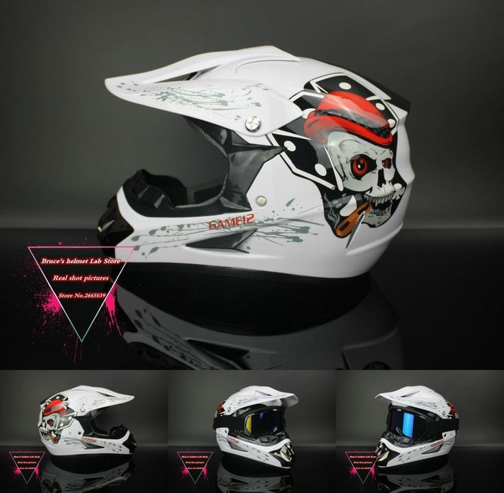 [Visit to Buy] Motorcycle Helmet Dirt Bike Downhill  Capacete Da Motocicleta Cascos Motocross Off Road Helmets ABS DOT XP125 #Advertisement