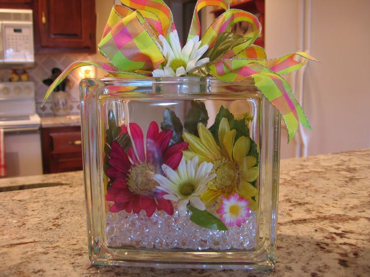 fill them with flowers and glass stones...Its endless what you can do with these things.