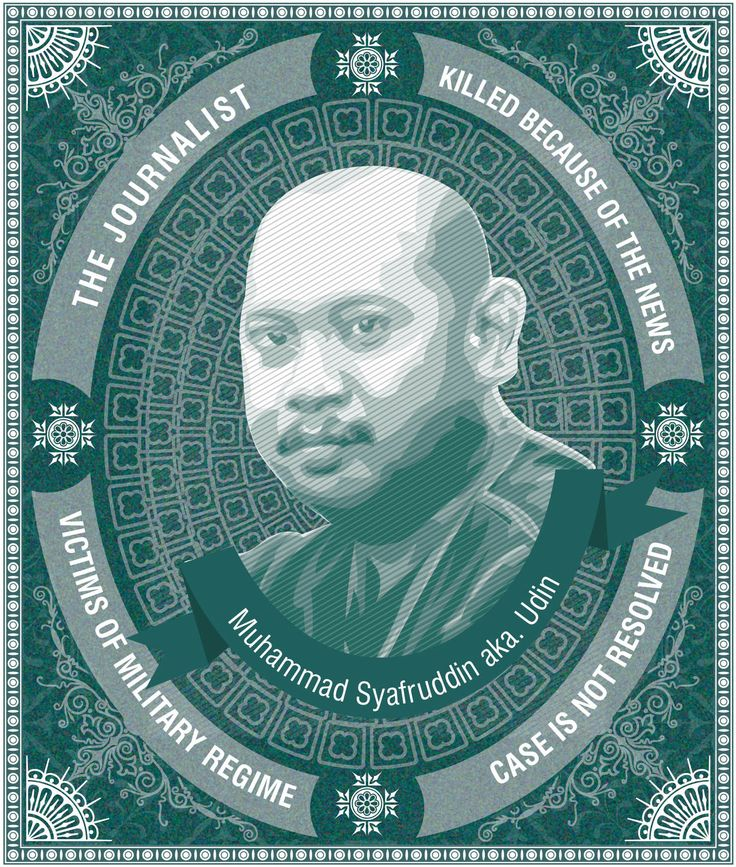 Dead Indonesian Journalist