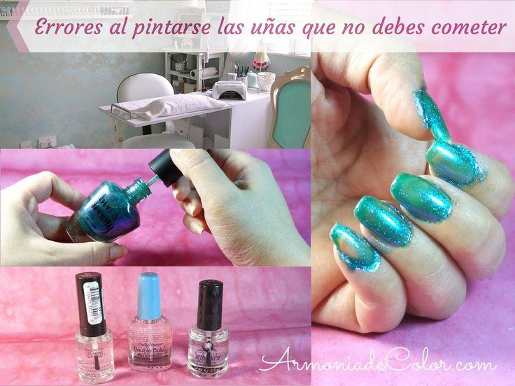 Errores que no debes cometer al pintarte las uñas