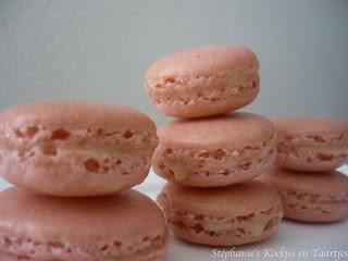 Simpel recept voor macarons (in Nederlands) *het wachten bleek voor mij de gouden tip voor het 'voetje'*