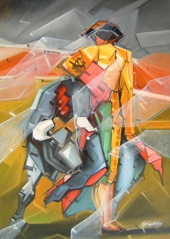 54 mejores im genes sobre arte taurino en pinterest for Pintor y muralista colombiano