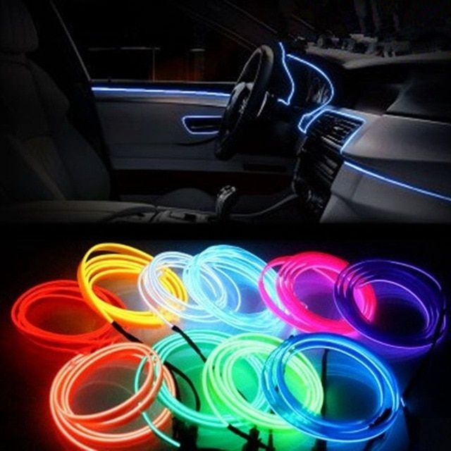 3m Car Interior Atmosphere Lights Styling For Audi A3 A4 B6 B8 B7