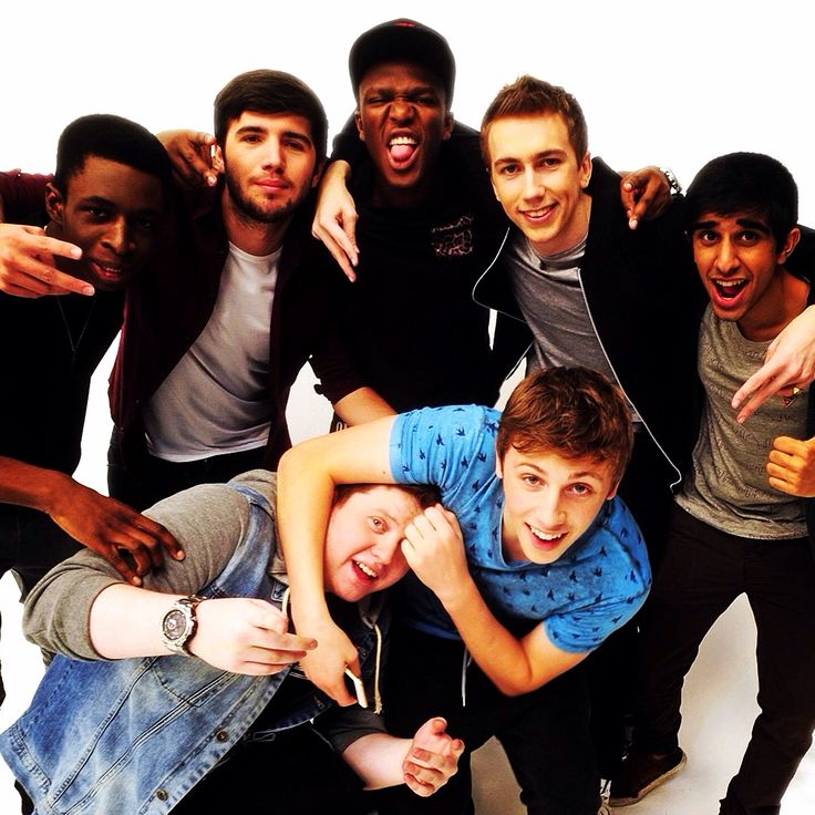 The Sidemen as Themselves