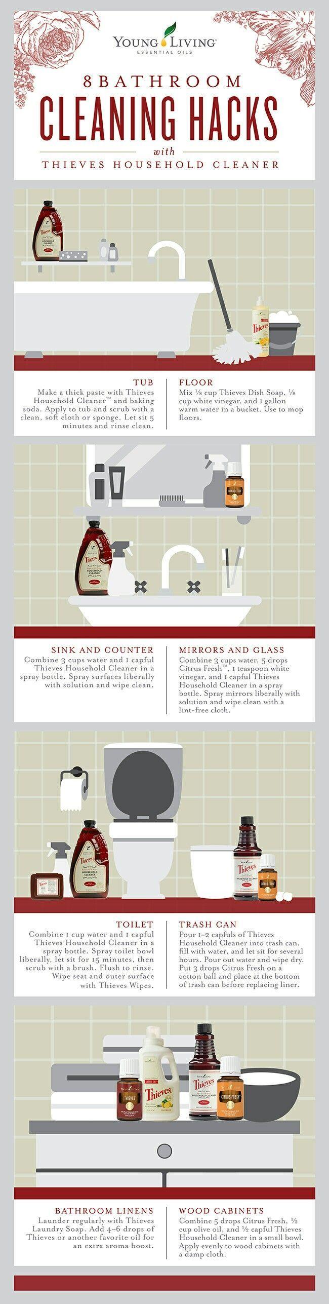 Diebe Badezimmerreinigung