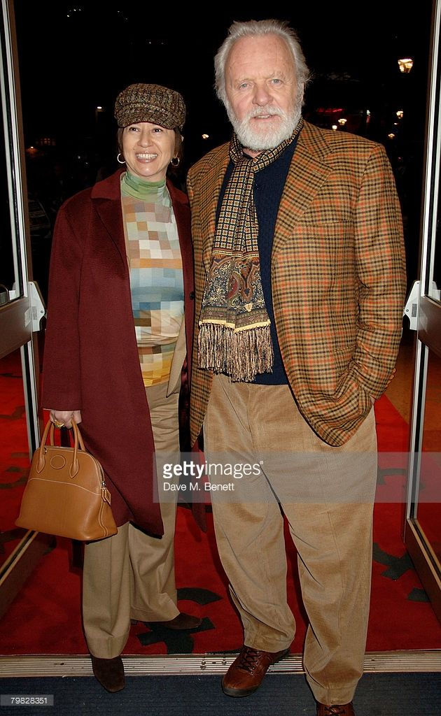 Sir Anthony Hopkins and wife Stella attend the world premiere of 'The Bank Job' at the Odeon West End on February 18, 2008 in London, England.