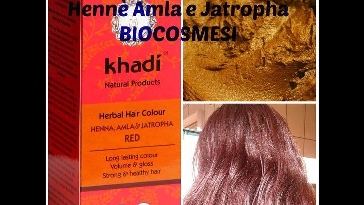 Tinta Vegetale Khadi Hennè Amla e Jatropha Preparazione e considerazioni finali #hennè #tintavegetalekhadi #curadeicapelli #trattamentodibellezzapercapelli https://youtu.be/8iEdk2lTSFY