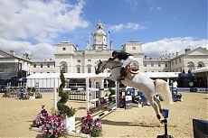 London 2014 Gallery - LONGINES GLOBAL CHAMPIONS TOUR - Michael Whitaker and Elie van de Kolmen win the Massimo Dutti Prix