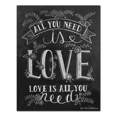 All You Need is Love (Print) - Lily & Val