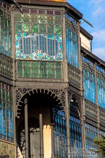 Museum of Art Noveau in Salamanca . Spain
