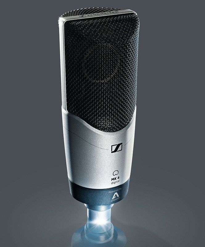 At prolight+sound, Sennheiser will preview the new digital version of its MK 4, one of the audio specialist's most popular recording mics. With high-quality Apogee A/D conversion and mic preamp tec…