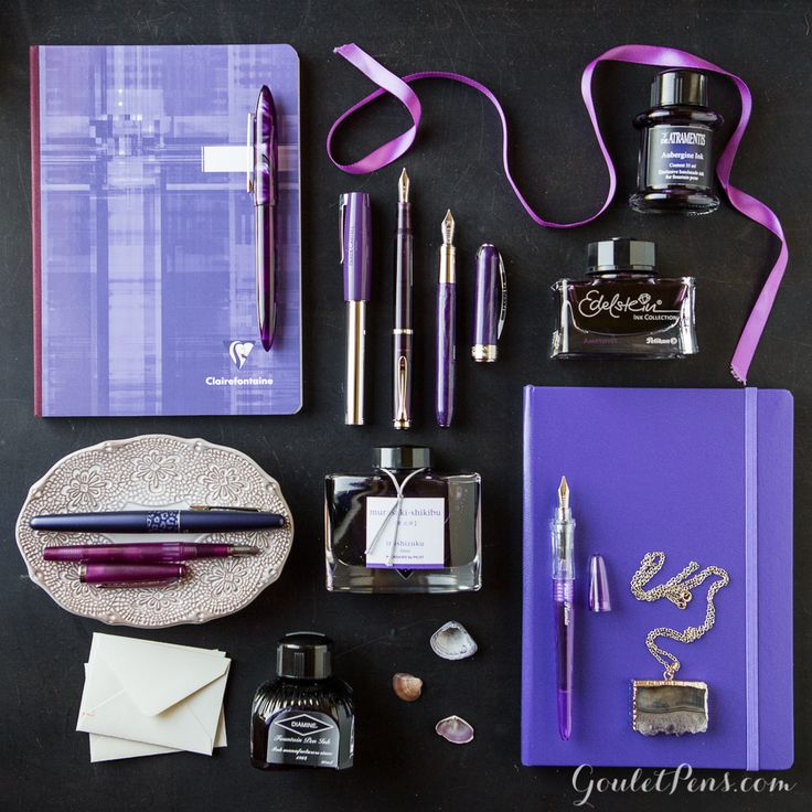 Goulet Pens Blog: Thursday Things: Amethyst