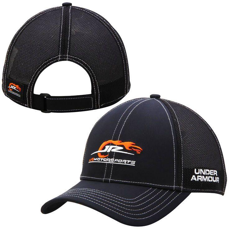JR Motorsports Under Armour Pit Crew Adjustable Hat - Black - $22.39